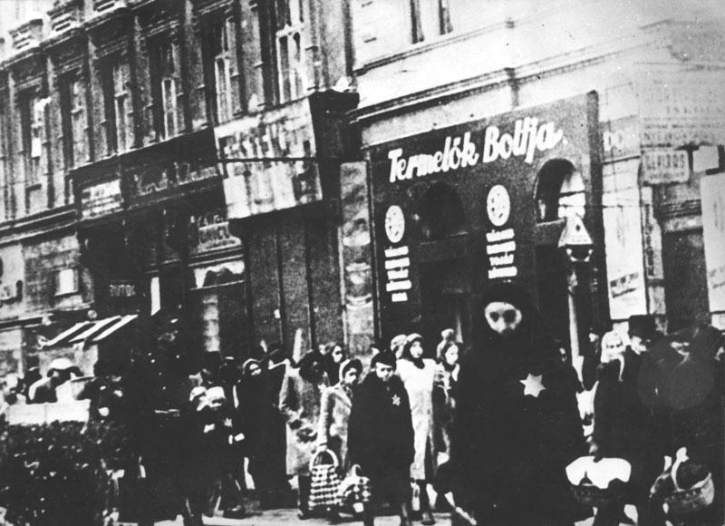 Deportation of the Budapest Jews to the Ghetto