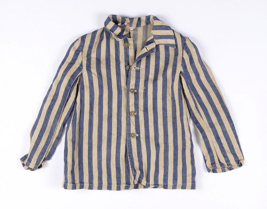 Prisoner clothing that Kalman Freireich took from the camp storeroom when he was  liberated