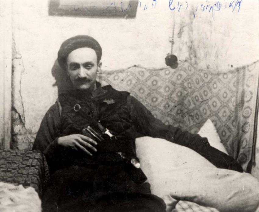 Chaim Yellin, a Yiddish writer and one of the heads of the Communist Underground in the Kovno Ghetto