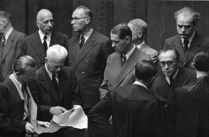 Nuremberg Trials, August 1947