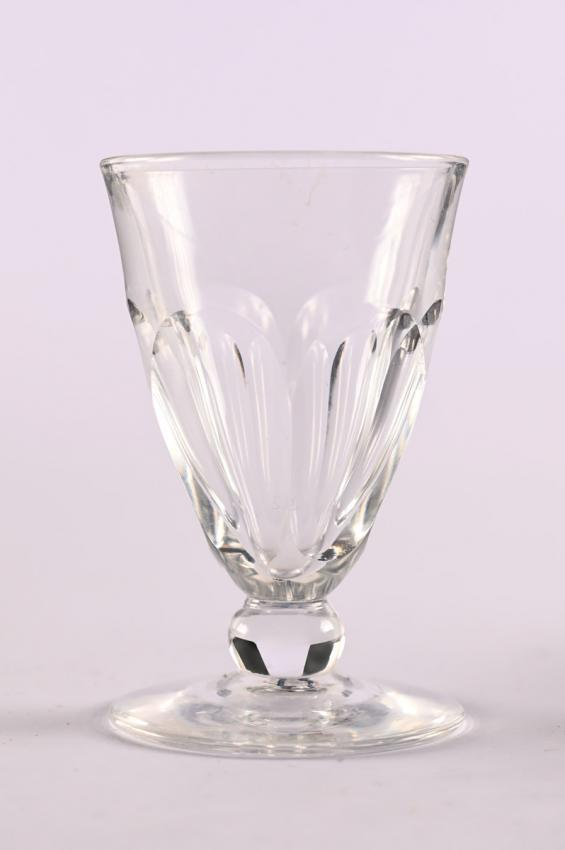 Crystal goblet that belonged to the Lang family, who escaped from Vienna after the Anschluss