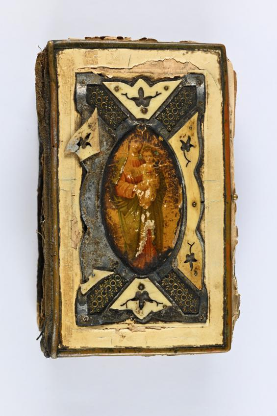 Catholic prayer book that belonged to Anna Chelpa who hid three Jews in her home, including Miriam and Yehoshua Laufer
