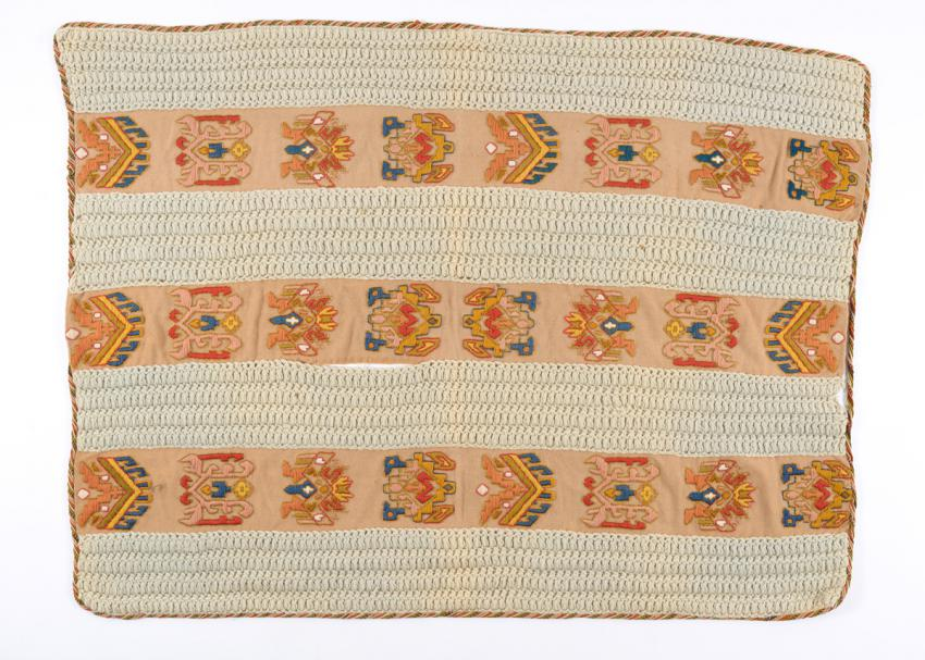 Blanket that the Edelmann family received on their arrival in Sweden after they were smuggled out of Nazi-occupied Denmark  by members of the Danish underground.