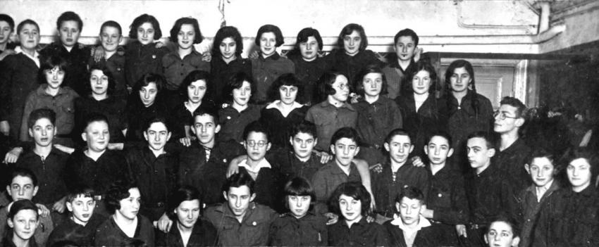 Members of the Beitar Zionist Youth Movement in Riga, Latvia, April 1930