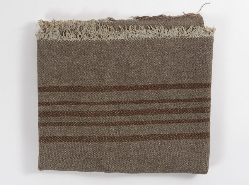 Blanket that Regina Lamsztein received on liberation from Mauthausen