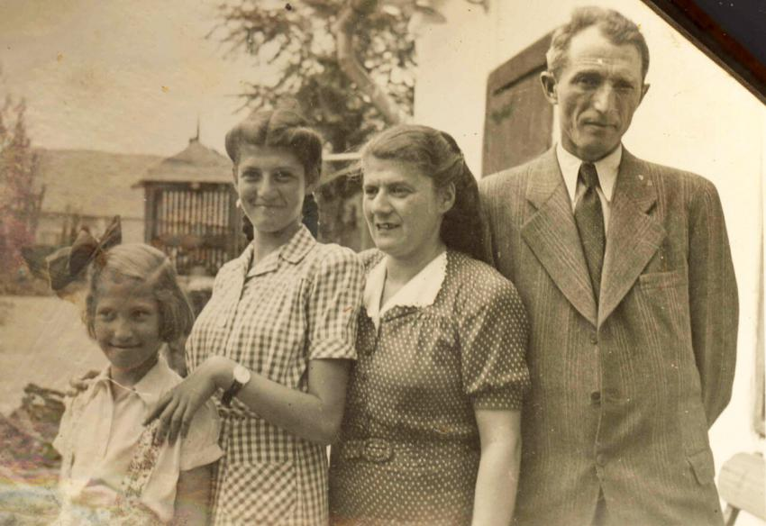 The Marosi family before the war
