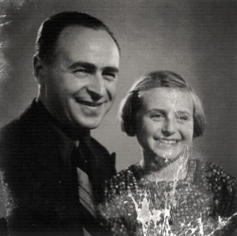 Fischel and Regina Zimet, Leipzig, Germany, 1930s