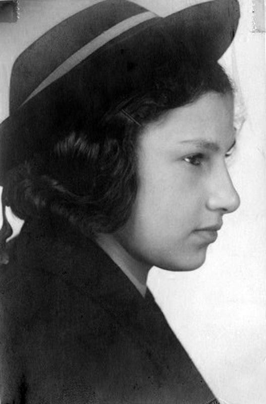 Susan Lang, who escaped from Vienna with her family after the Anschluss