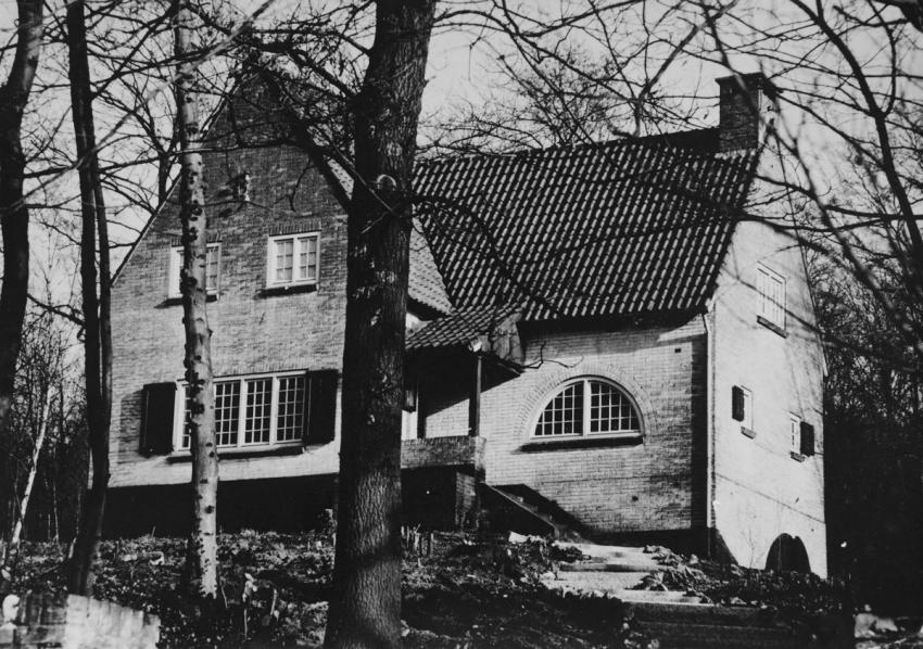 The house of Elisabeth de Grebber in Bunde, the Netherlands where Frederika Sarlui and others were hidden during the war