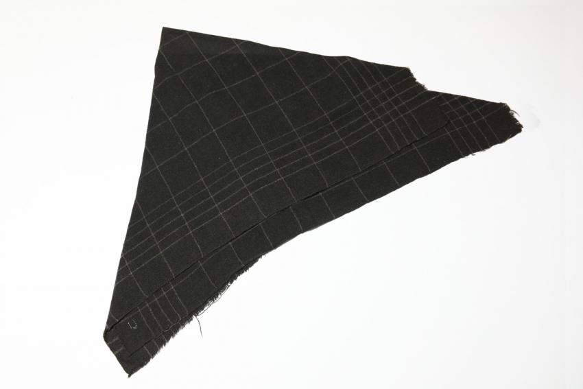 Headscarf used by Ruth Bensinger on the death march