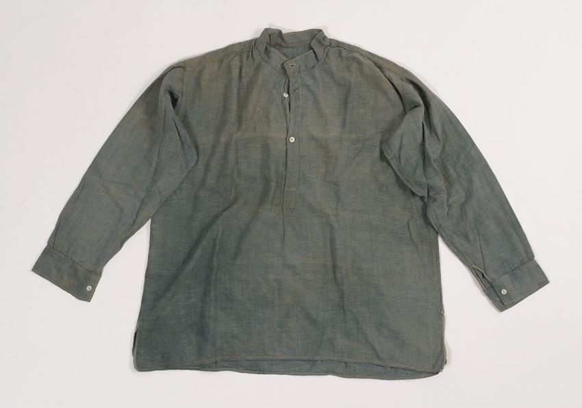 Shirt that Petachia Blickstein received  in Iasi after liberation