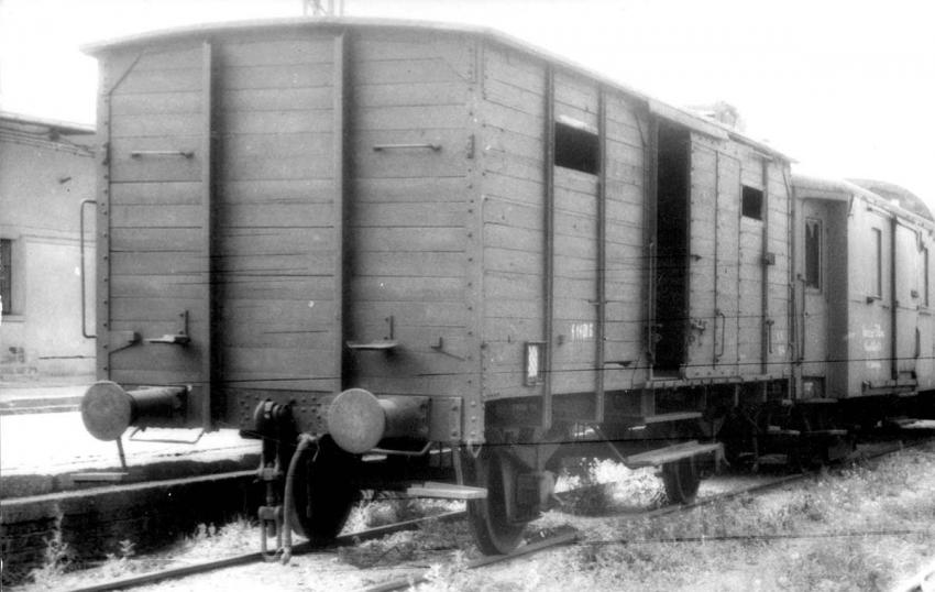Poland, the train car that was brought to Yad vashem