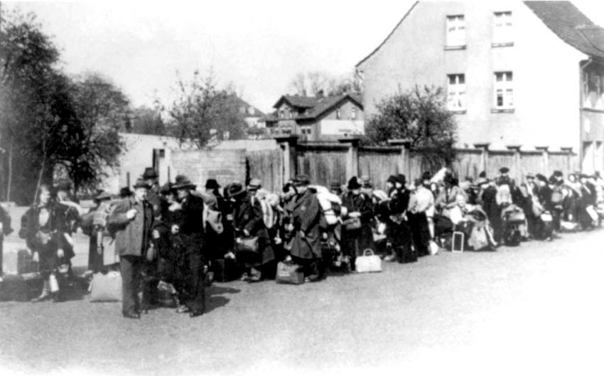 Deportation of Jews from Eisenach, Germany, May 9, 1942