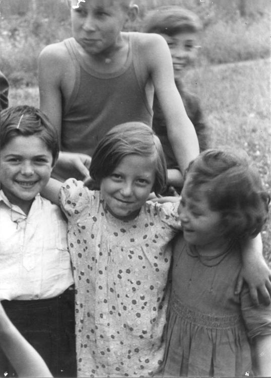 The Bericha - Children at a Gathering Point, Location Unknown