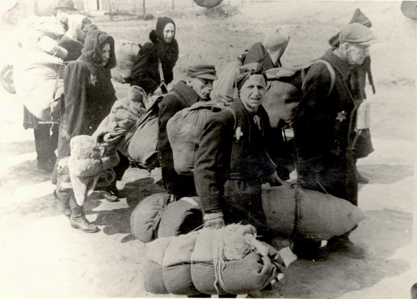 Deportation of Jews from Germany to Lodz, Poland, March 1942