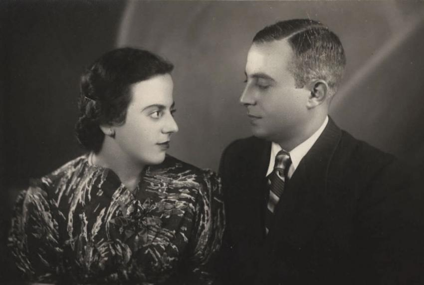 Yeshayahu and Rachel Brandmesser