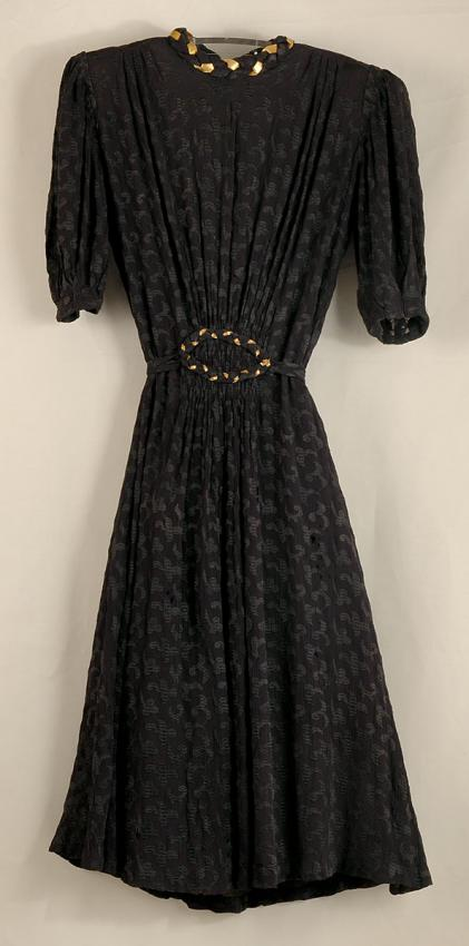Engagement Dress of Rachel-Freida Kudlowicz who was murdered in Treblinka
