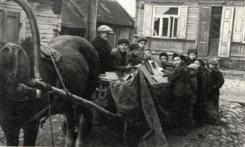 The Books Aktion in Kovno, Lithuania, February 1942