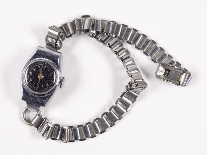 Watch that was given to Sarah Berkman by a fellow inmate the day after liberation