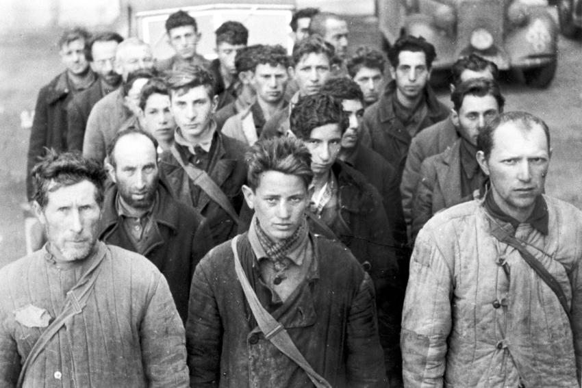 Jewish forced laborers in the Minsk Ghetto