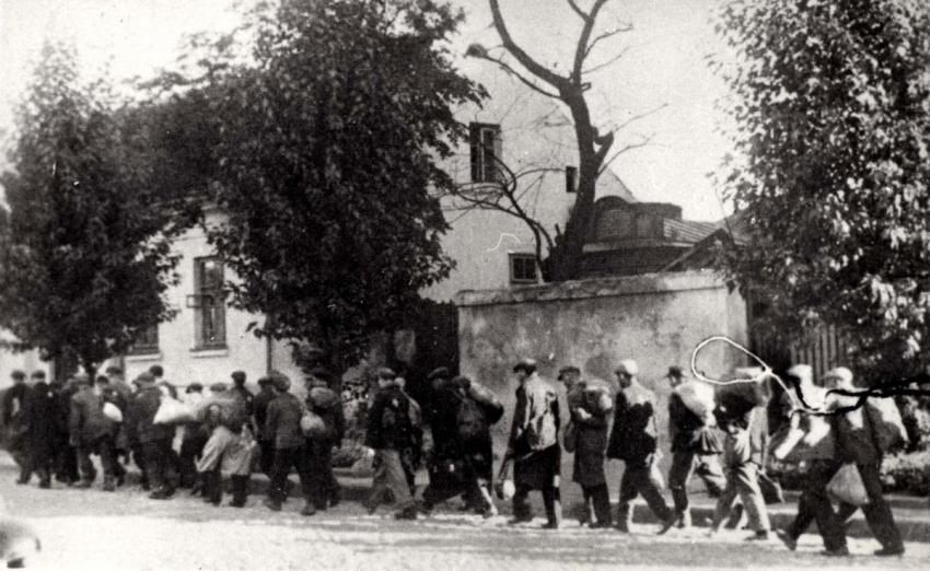 Deportation of the Jews from Bialystok, Poland, August 1943