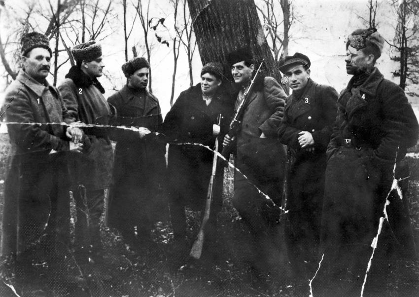 Partisans in the Vinnitsa District, Ukraine