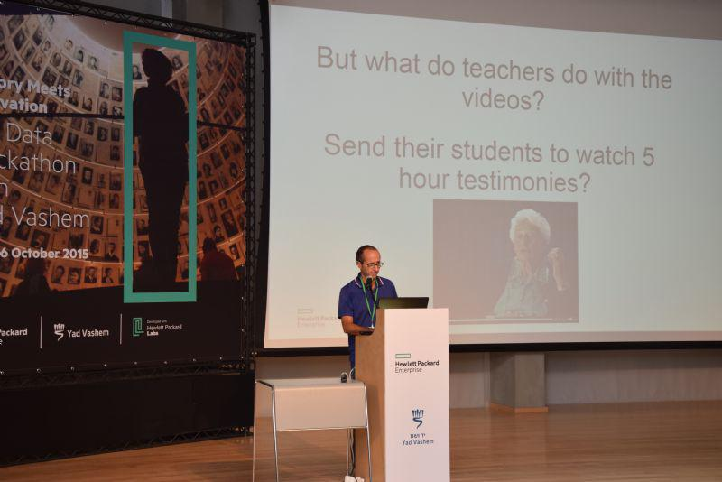 The developers endeavored to find ideas to keep young minds interested in the Holocaust story