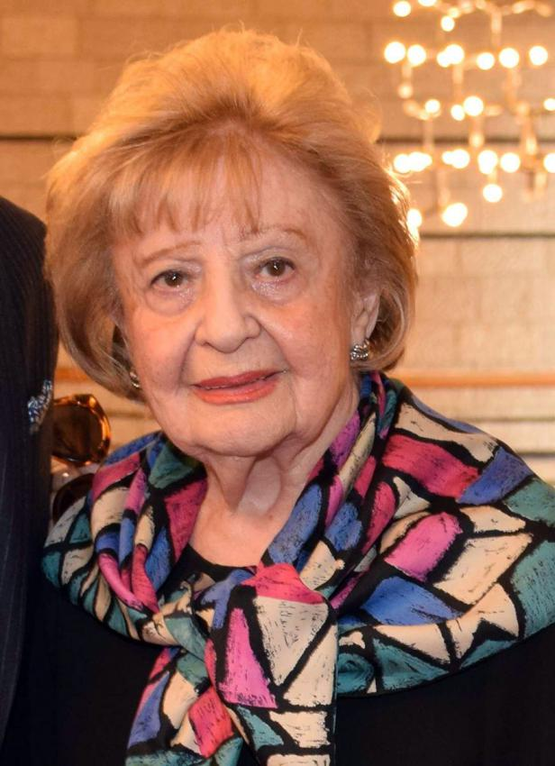 Holocaust survivor Rose Moskowitz