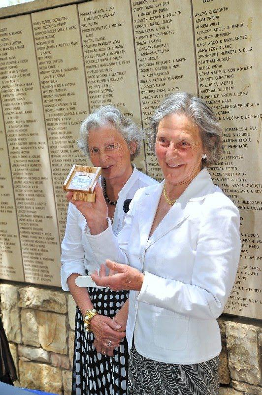Yad Vashem honors Belgian Baroness as Righteous Among the Nations