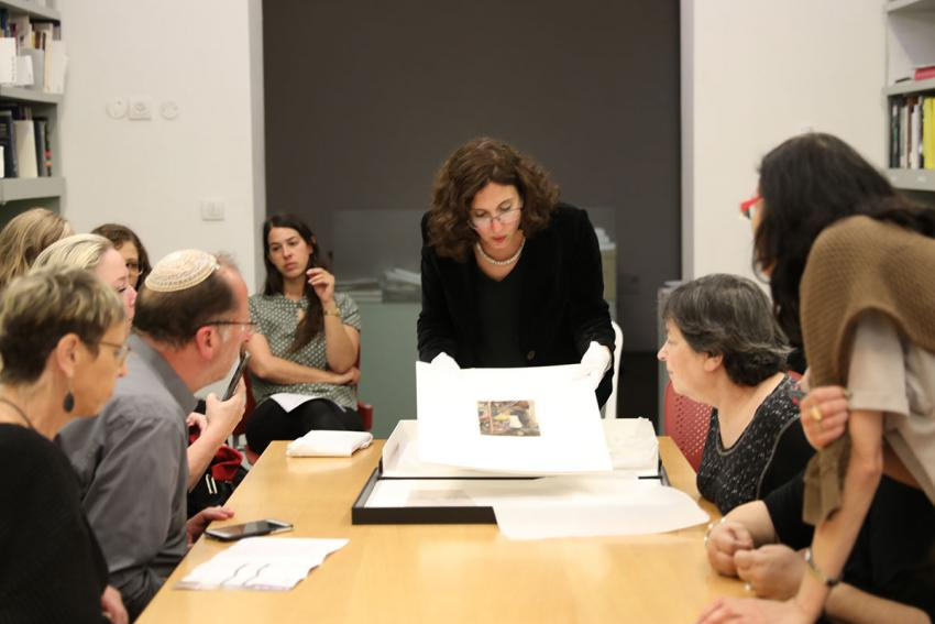 Behind the scenes activities for the general public on the Holocaust Remembrance Day at Yad Vashem