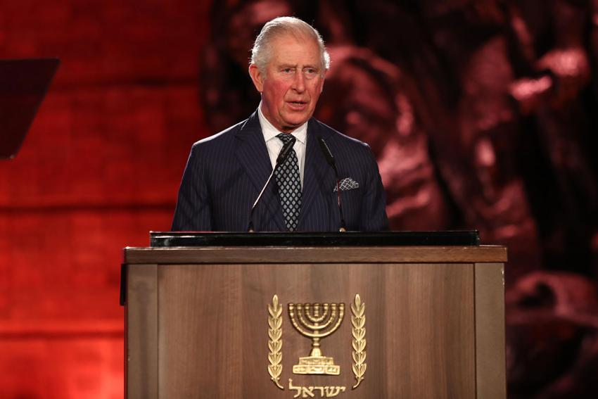 HRH Prince Charles, The Prince of Wales, honored the assembly of world leaders with his moving tribute marking International Holocaust Remembrance Day