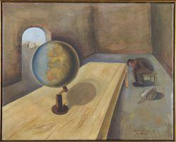 Felix Nussbaum's The Refugee (Oil on Canvas) Collection of the Yad Vashem Art Museum