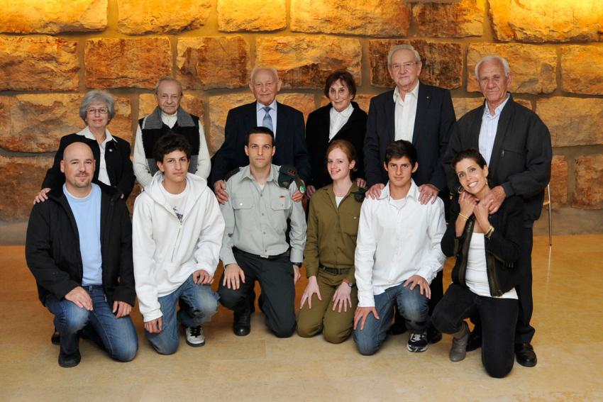 Photos from Official Events on Holocaust Remembrance Day 2011