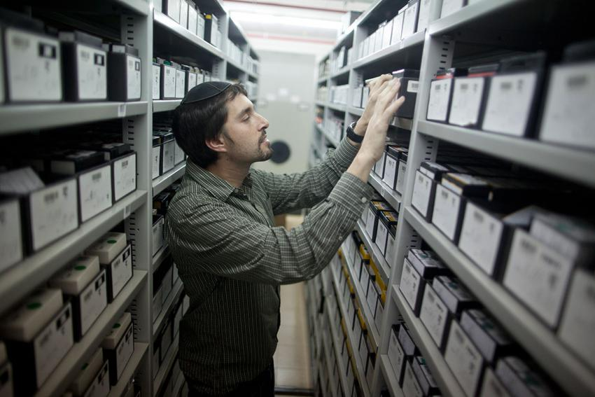 In the Yad Vashem Archives