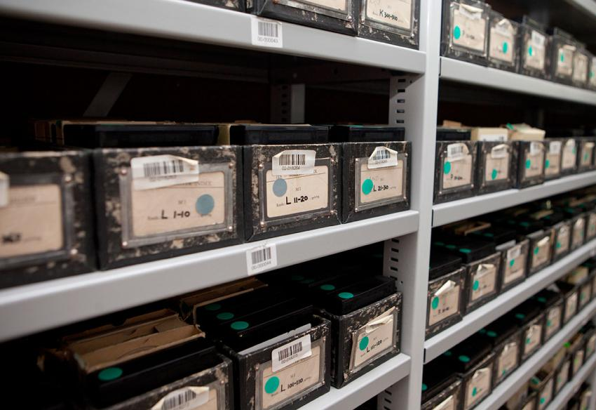 Documents stored in the Yad Vashem Archives