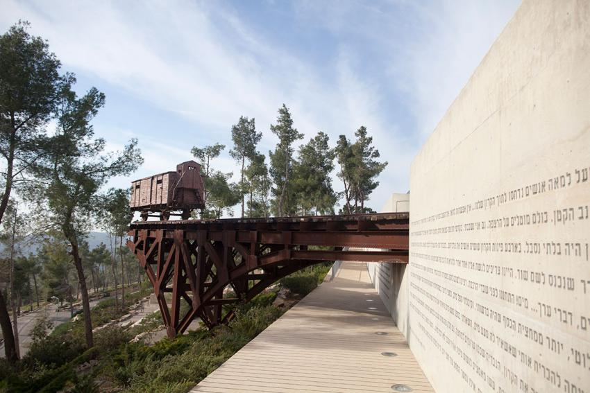 Cattle Car - Memorial to the Deportees
