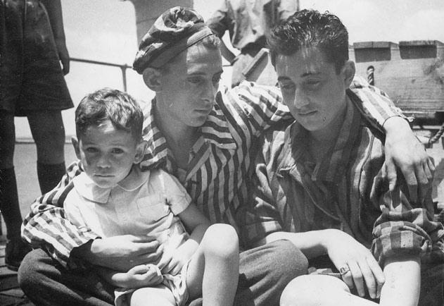 Postwar, Two Brothers, Survivors from Transnistria