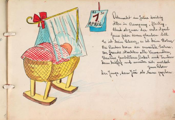 """""""Don't Forget Me"""" - Children's Personal Albums From the Holocaust"""