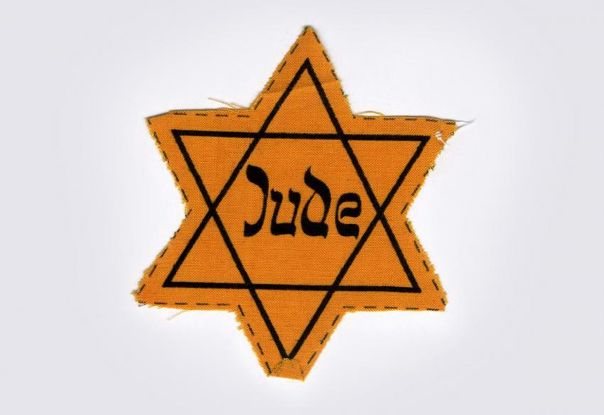 Jewish badge from Austria