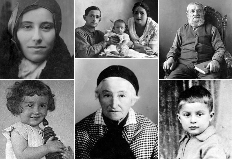 Jews from Kiev and the Surrounding Areas Murdered at Babi Yar