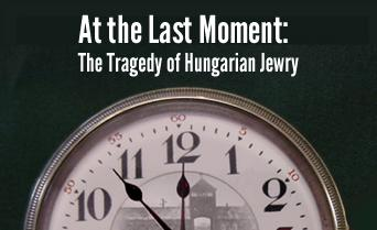 At the Last Moment: The Tragedy of Hungarian Jewry - January 2014