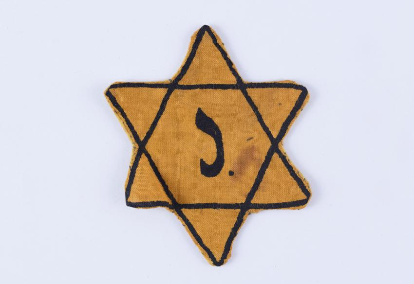 Jewish badge from Belgium