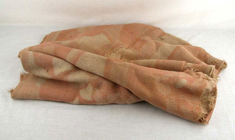 Blanket used by Helena Hamermesch (née Rosenberg) to cover herself during a death march from Auschwitz to Bergen-Belsen