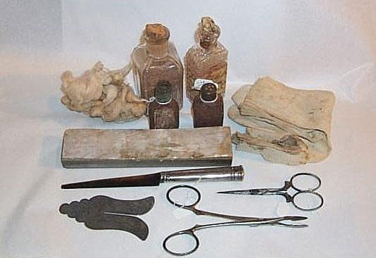 A Brit Milah (Circumcision Ceremony) Kit from a Greek Jew