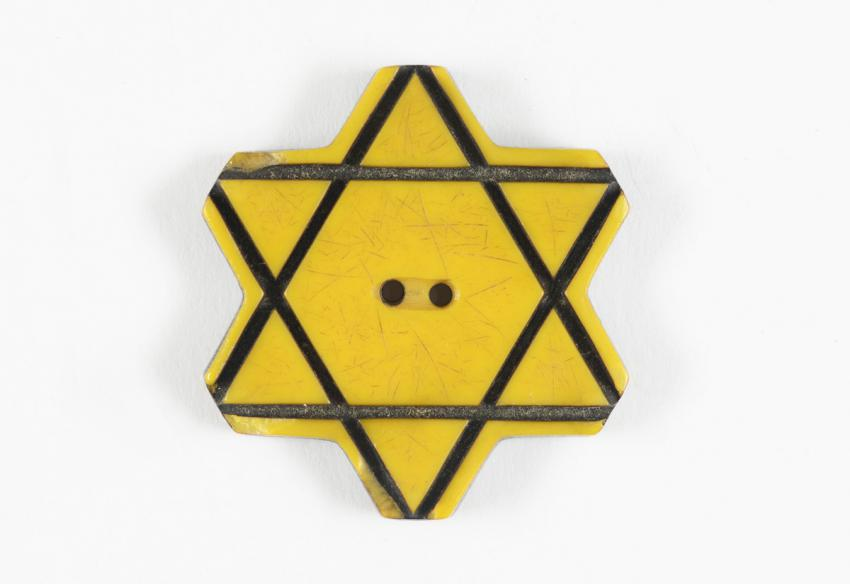 Jewish badge from Bulgaria