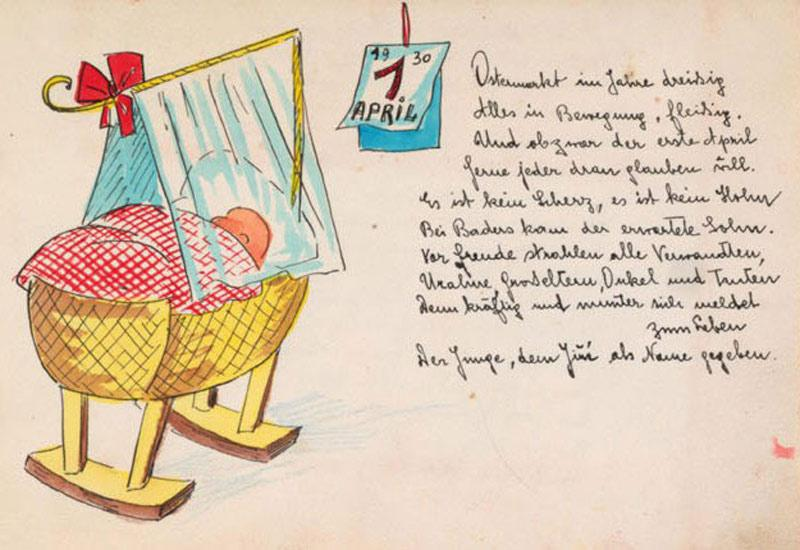 Children's Personal Albums From the Holocaust