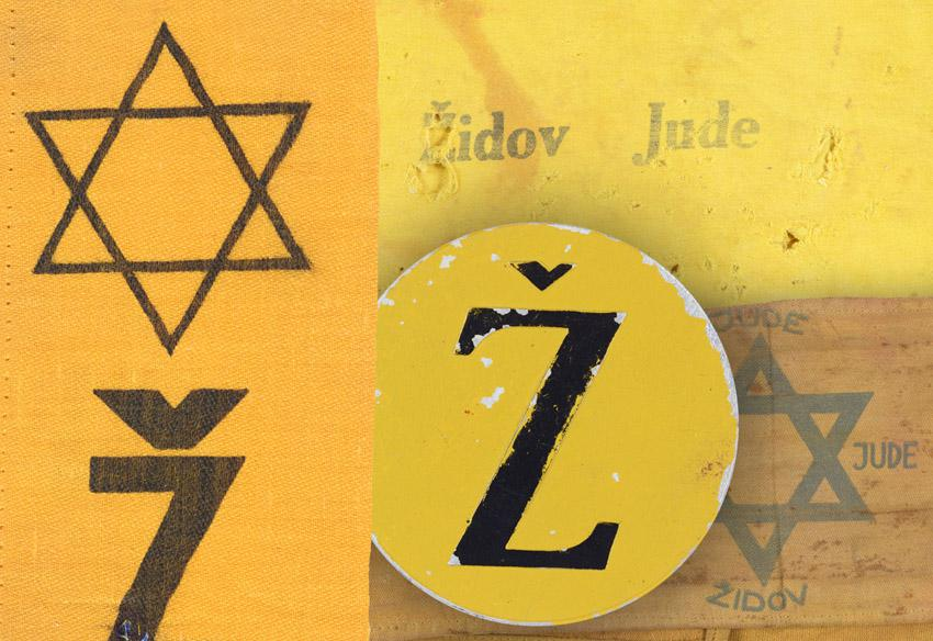 Jewish badges from Croatia