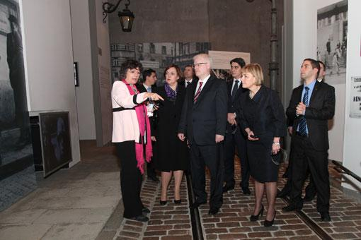 President of the Republic of Croatia Ivo Josipović visited Yad Vashem