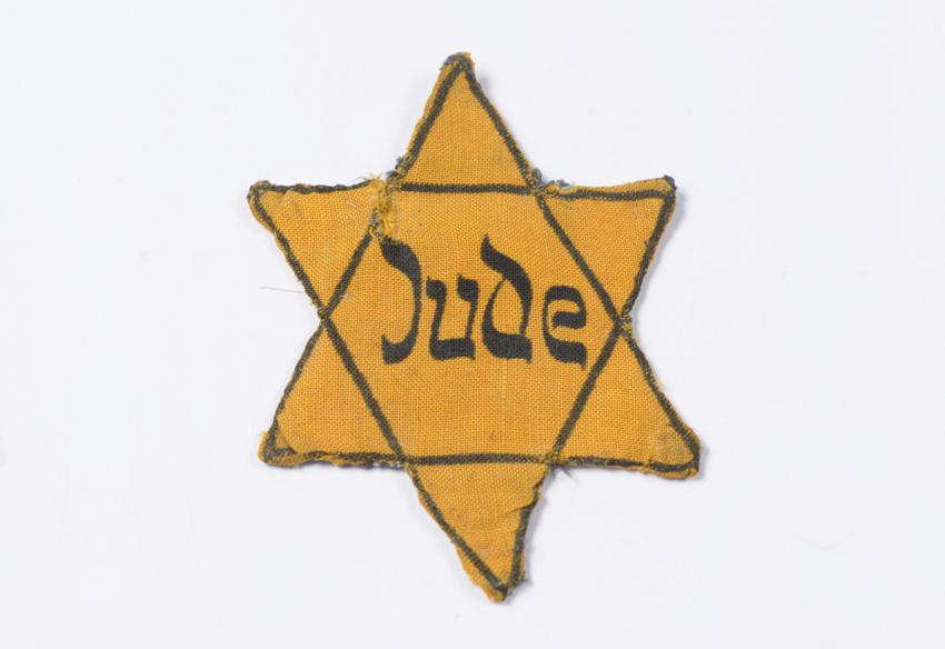 Jewish badge from Czechoslovakia