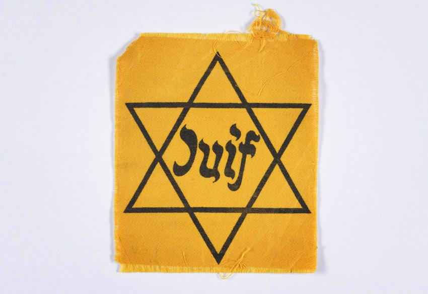 Jewish badge from France
